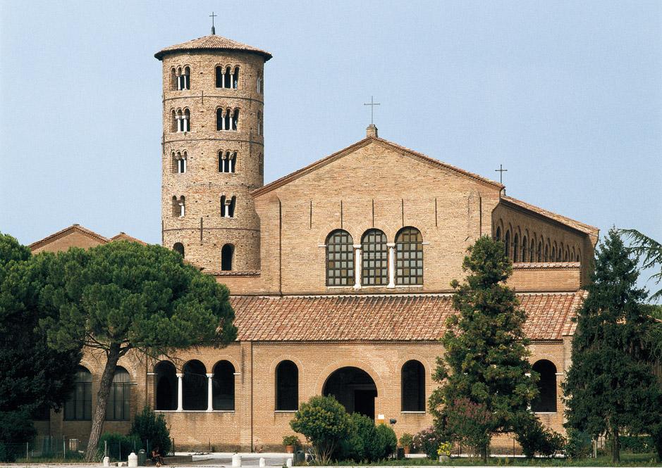 The Basilica of Sant'Apollinare Nuovo